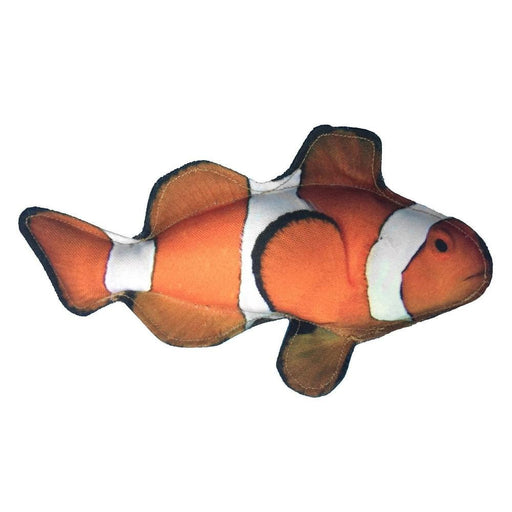 "10"" Tropical Clownfish Dog Fish Toy"