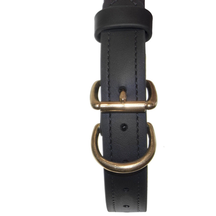 Viper Biothane Working Dog Collar - Brass Hardware