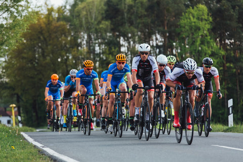 competitive road cycling