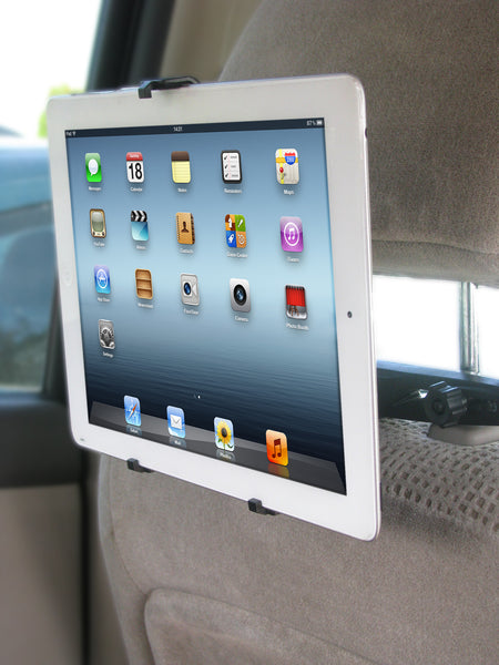 Headrest Tablet Hanger & Mount by CommuteMate