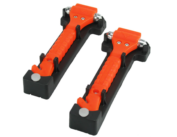 CommuteMate Emergency Hammer for Vehicles, Set of 2