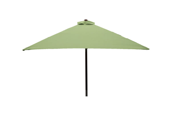 Classic Wood 6.5 ft Square Patio Umbrella