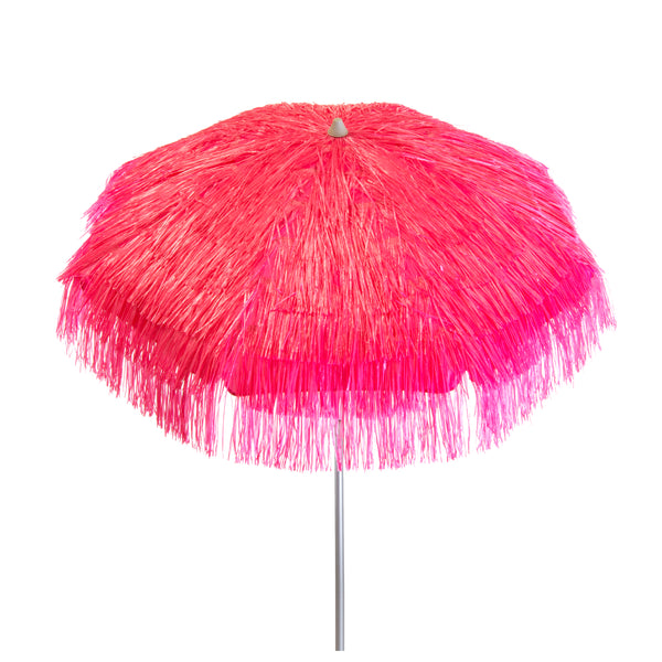 DestinationGear 6 ft Pink Palapa Patio Umbrella
