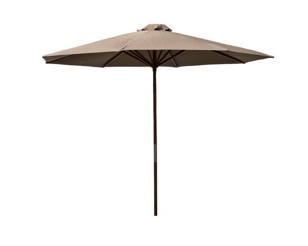 Classic Wood 9 ft Market Umbrella