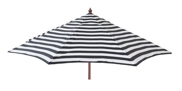 Euro 9ft Striped Market Umbrella