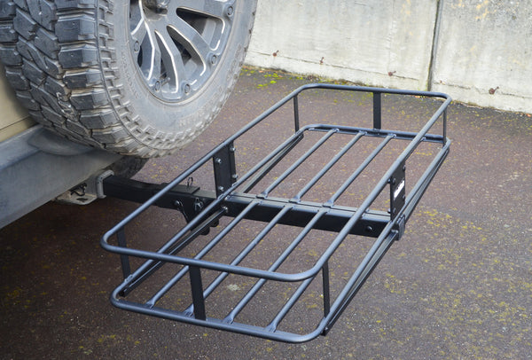 "Folding Cargo Carrier for 2"" Receivers by HitchMate"