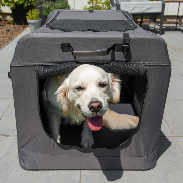 Soft Sided Portable Dog Crate