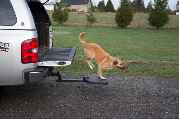 Twistep Pet Step for Pick-Up Trucks includes FREE Hitch Lock