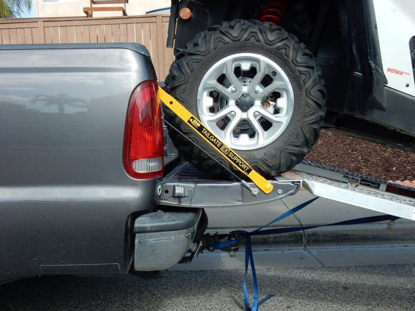 tailgate support bars for trucks rackbiz