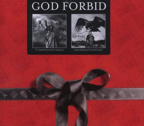 God Forbid - Two4One double CD box set - IV Constitution Of Reason & Gone Forever (Tour Edition)