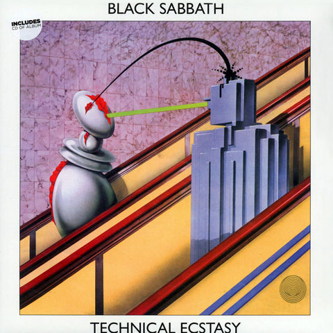 Black Sabbath - Technical Ecstasy Vinyl + CD