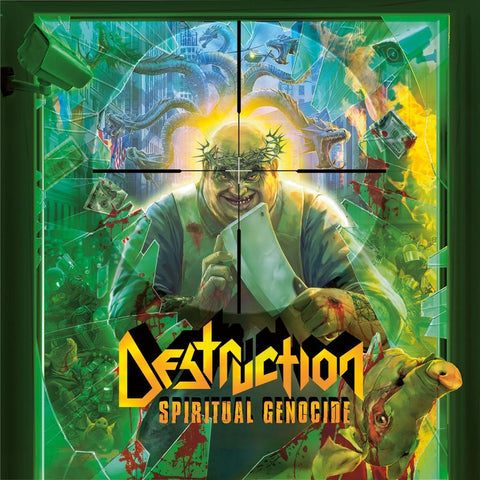 Destruction - Spiritual Genocide Vinyl (1LP/PD/GF+POSTER)
