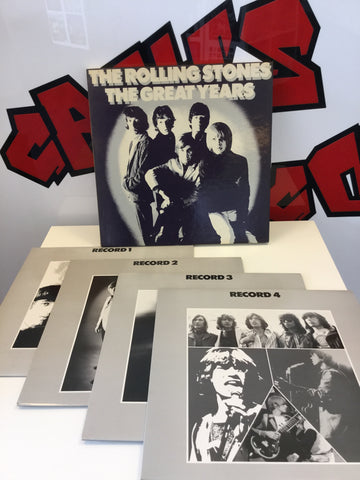 The Rolling Stones - The Great Years 4LP Box Set (GROL A 119)