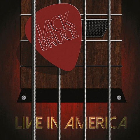 Jack Bruce - Live in America Vinyl (Limited edition 2LP)