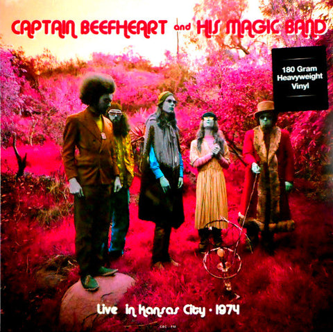 Captain Beefheart And His Magic Band - Live In Kansas City 74'(New)