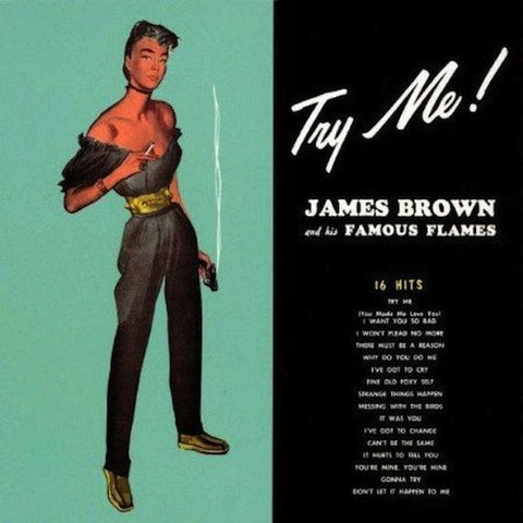 James brown - Try Me Vinyl