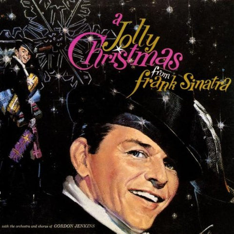 Frank Sinatra - A jolly Christmas (limited edition red vinyl)
