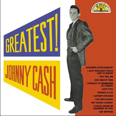Johnny Cash -  Greatest Vinyl
