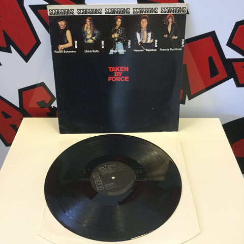 Scorpions - Taken By Force Vinyl (RCA LP 3024)