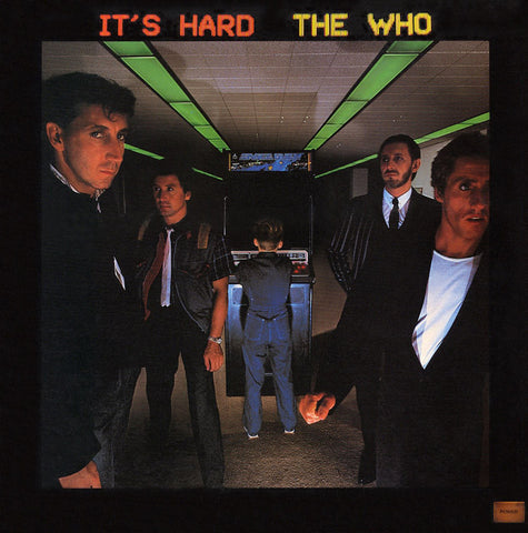 The Who - Its Hard Vinyl