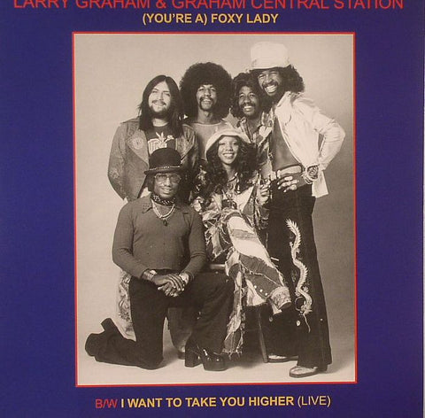 "Larry Graham & Graham Central Station - (You're A) Foxy Lady 7""  Vinyl Single (New)"