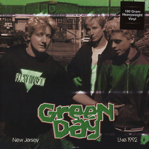 Green day - Live In New Jersey May 28th 1992 Vinyl