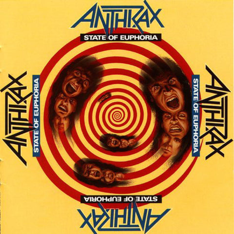 Anthrax - State Of Euphoria CD