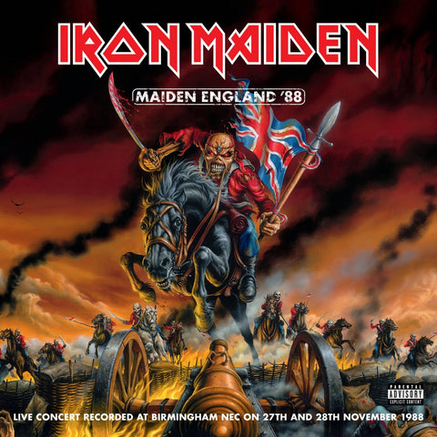 Iron Maiden - Maiden England '88 CD