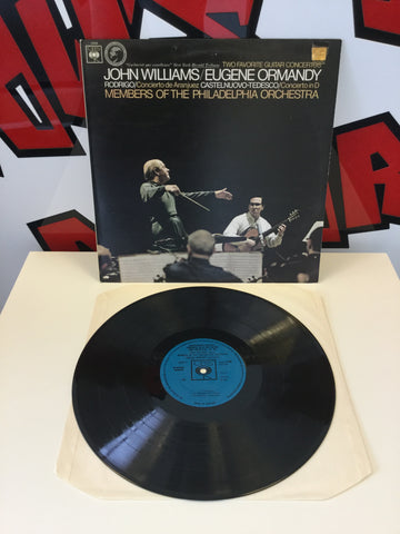 Two Favorite Guitar Concertos John Williams/Eugene Ormandy Vinyl