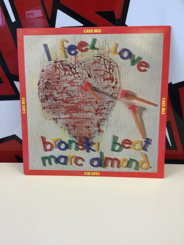 "Bronski Beat Marc Almond - I Feel Love Cake Mix 12"" Vinyl"