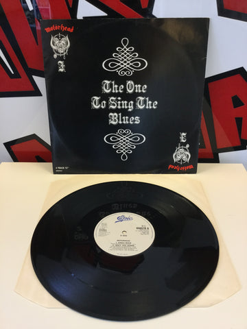 "Motörhead - The One To Sing The Blues 12"" Vinyl Single"