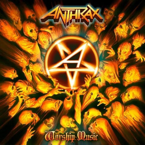 Anthrax - Worship Music Vinyl (Ltd Edition Coloured Vinyl)
