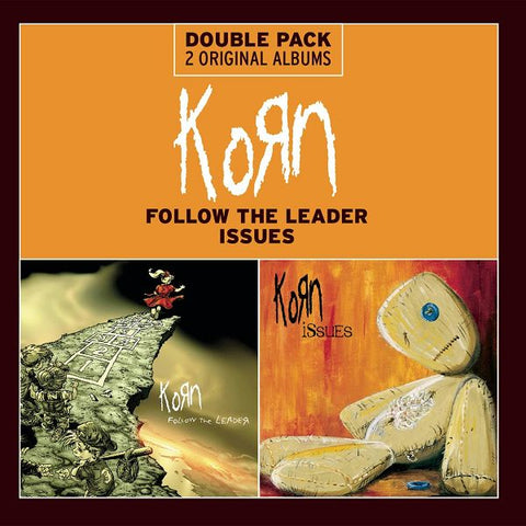 Korn - Follow The Leader/Issues Double Pack CD