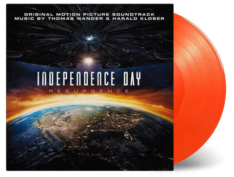 Independence Day: Resurgence Soundtrack Ltd Edition Orange Vinyl