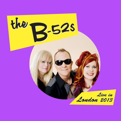 The B52's - Live In The Uk 2013 ( limited edition red vinyl, 2LP )