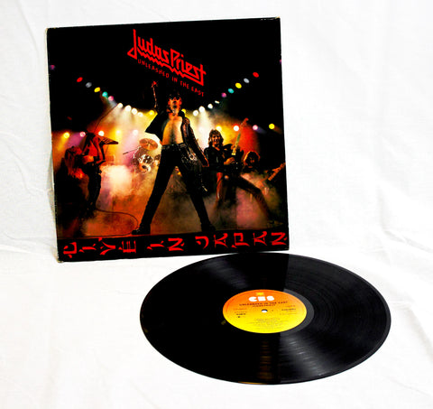 Judas Priest - Unleashed In The East Vinyl (Pre Owned)