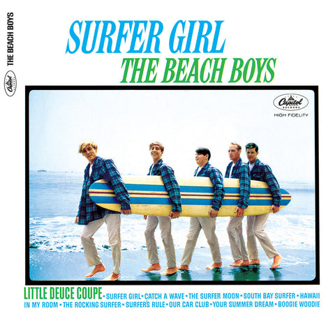 Beach Boys - Surfer Girl Vinyl (Mono & Stereo, 180g vinyl)