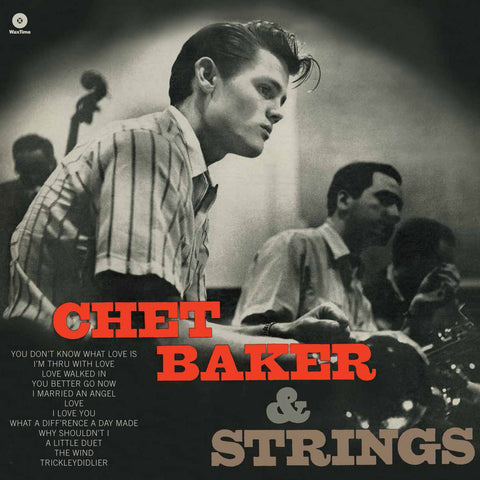 Chet Baker - With Strings Vinyl (New 180g)