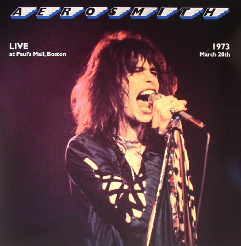 Aerosmith - Live At Paul's Mall, Boston Vinyl