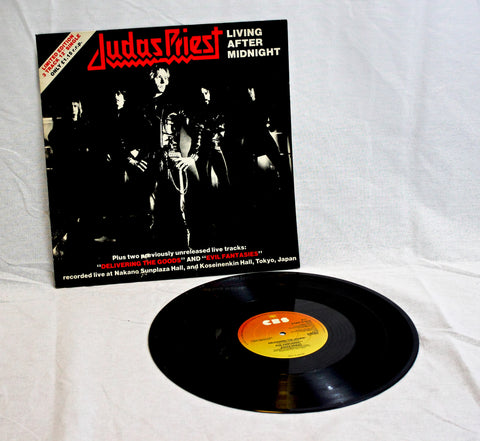 "Judas Priest - Living After Midnight 12"" (12-8379) Vinyl"
