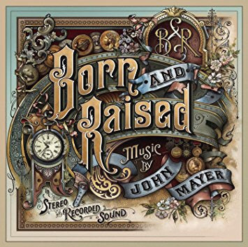 John Mayer - Born And Raised Vinyl
