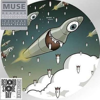 "Muse - Reapers 7"" Picture Disc RSD 2016 (New)"