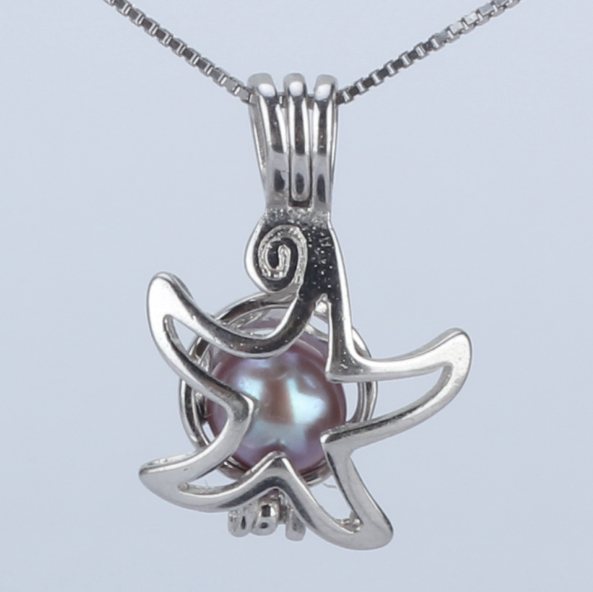 Shining Star Akoya Pearl Pendant Necklace