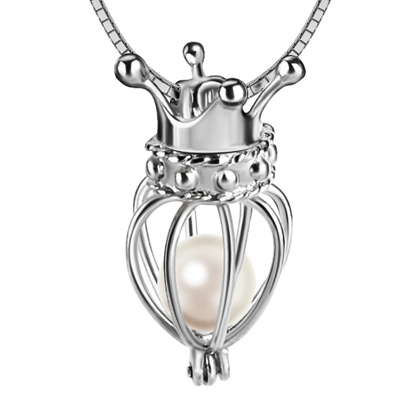 Queen of Pearls Akoya Pearl Pendant Necklace