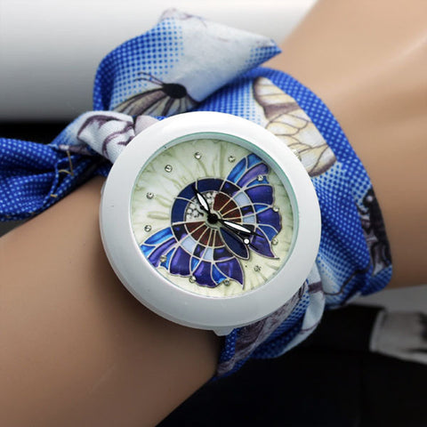 Heather Collection - Geneva Ladies Cloth Wristwatch