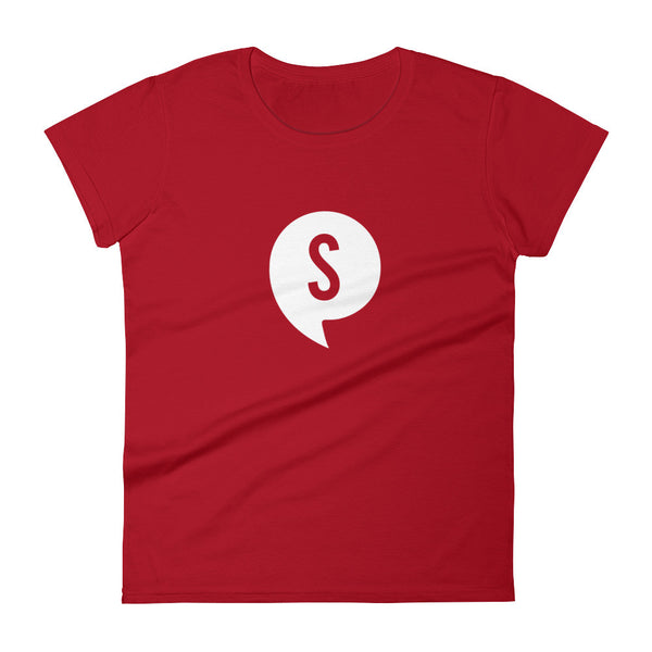 CHERRY ST. LOGO TEE - WOMEN'S FIT