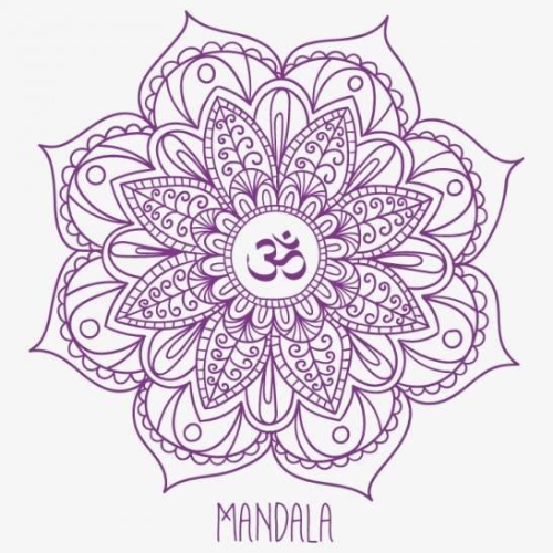 Energy Healing with the Use of Mandalas, Colors and Meditation