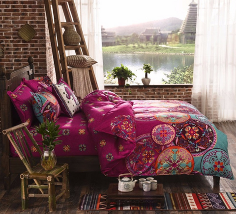 Serendipity Bohemian Bedding Set