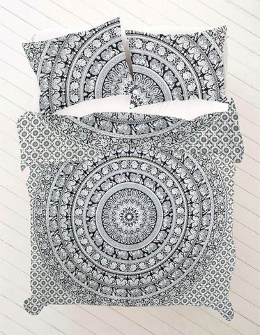 Nanda King Size Mandala Bedding
