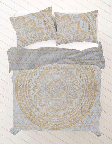Oorja Queen Size Mandala Bedding
